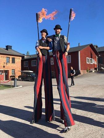 Gavle, Sweden: underhållningen var dock sådär, lite för barnslig för konferensgäster