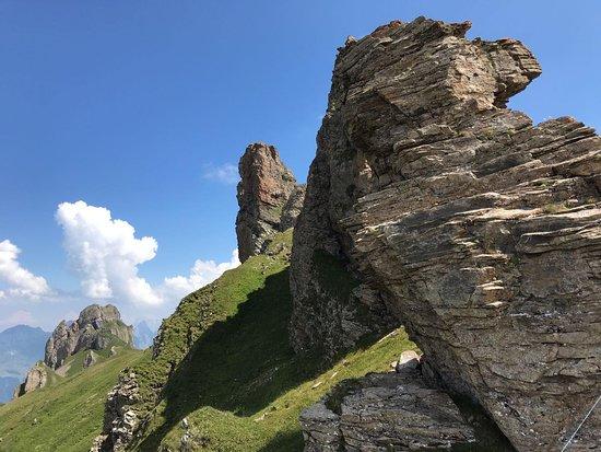 Flumserberg, Ελβετία: Imposante Bergwelt