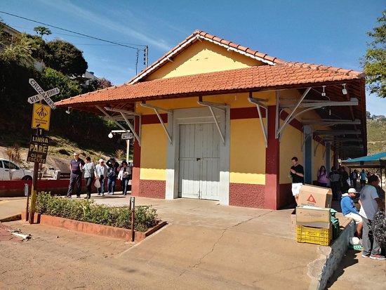 Soledade de Minas, MG: Estação Ferroviária