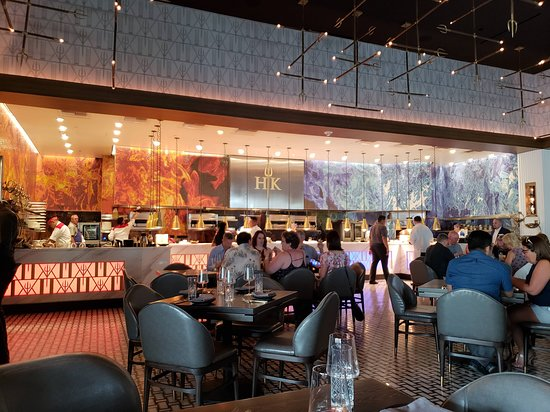 Restaurant Interior - Picture of Gordon Ramsay Hell's Kitchen, Las Vegas - Tripadvisor