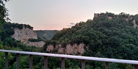 Hosteria Del Borgo: Vista della terrazza