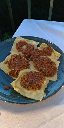 Hosteria Del Borgo: Tortelli