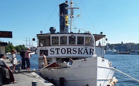 Dampfschiff Storskar Picture Of Waxholmsbolaget Stockholm