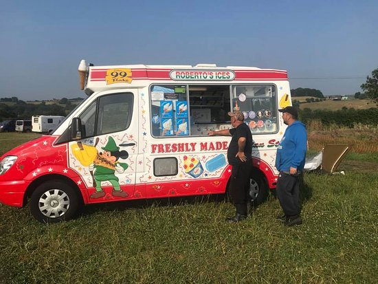 Ripley, UK: Ice cream truck weekly