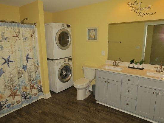 Waterfront Condo Bathroom