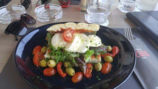 Restaurant 't Zwin: Delicious veggie sandwich!