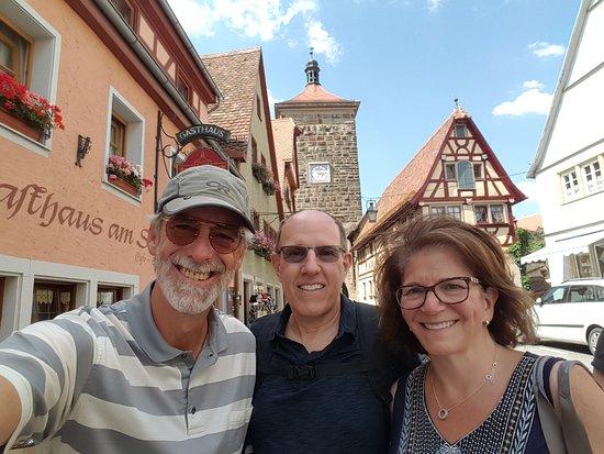 Nuremberg Tours in English: #NurembergToursinEnglish with #HappyTourCustomers in Rothenburg