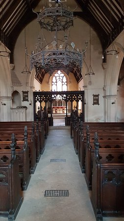 Tetbury, UK: The nave, looking east towards the rood screen