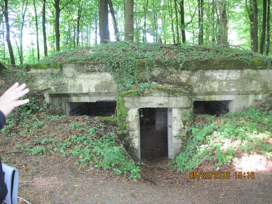 Abris du Kronprinz: This is the headquarters bunker