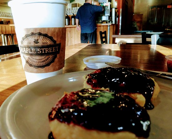 Maple Street Biscuit Company- JAX Beach: Delicious biscuit with homemade jelly