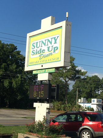 Sunny Side Up Diner: The sun is up!