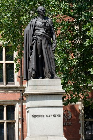 George Canning Statue