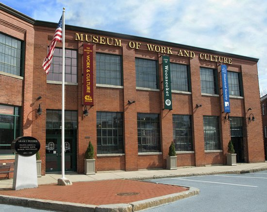 Woonsocket, RI: The Museum of Work & Culture is located in the former Barnai Worsted textile mill.
