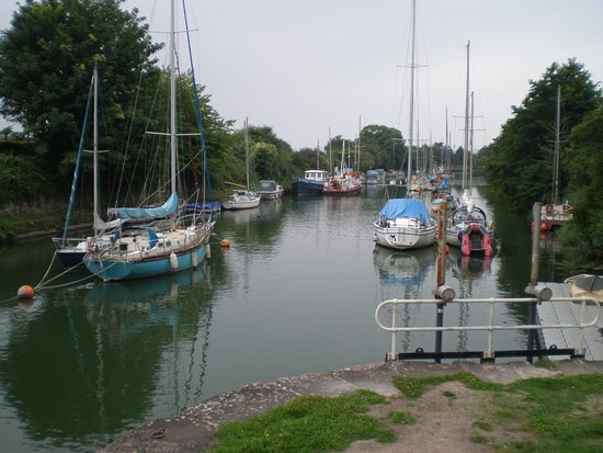 Sailing Boats at Lydney Harbour