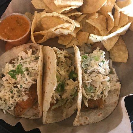 Tecumseh, MI: Fish tacos