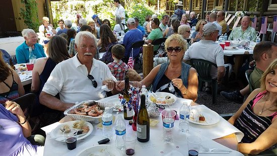 Swan Lake, MT: Did someone say Shrimp Boil?! Annual July 3rd event at the Horse.