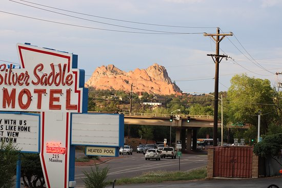 Silver Saddle Motel: Jew from our room