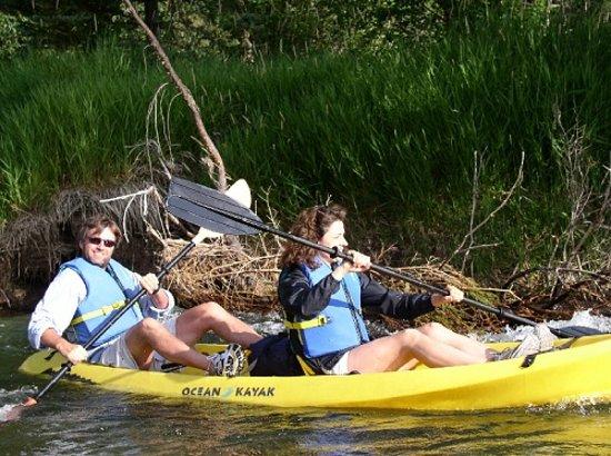 Swan Lake, MT: Kayaking the Swan River