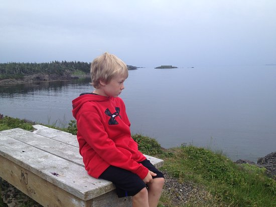 Arnold's Cove, Canada: Taking a rest along the way