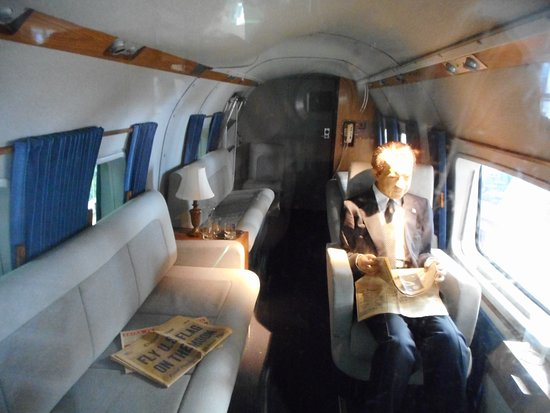 National Naval Aviation Museum: Interior View Of Marine One.