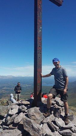 Carrauntoohil Mountain: Holy cross