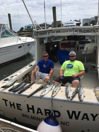 Wrightsville Beach, NC: 3/4 day King Mackerel fishing