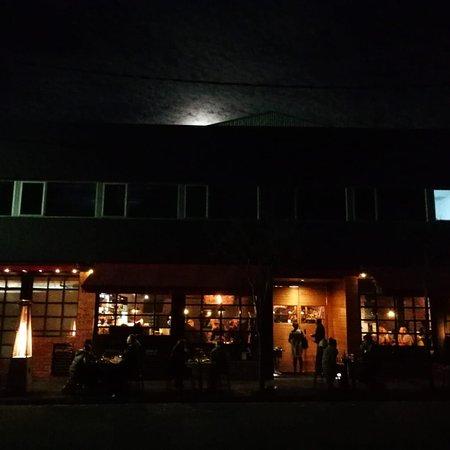 Wonderful atmosphere, food, service and wine