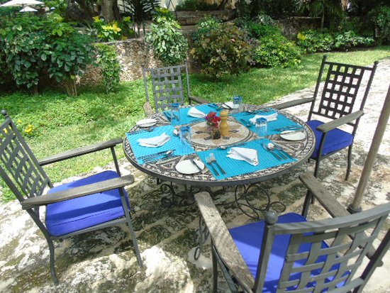 Outdoor Dining Set Up For Lunch Picture Of Medina Palms Watamu Tripadvisor
