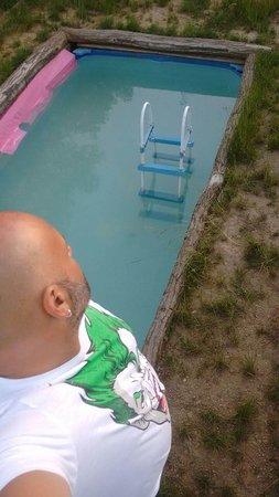 Borgo Carpineto: Pequeña piscina