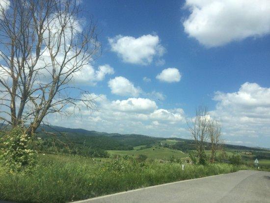 Borgo Carpineto: Hermoso paisaje