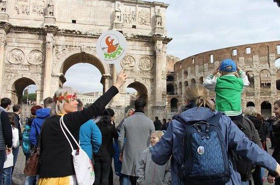 子供連れの家族のためのローマツアー:インタラクティブクラシックローマツアー