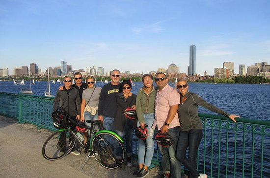 Vélos à la nuit Boston City Tour