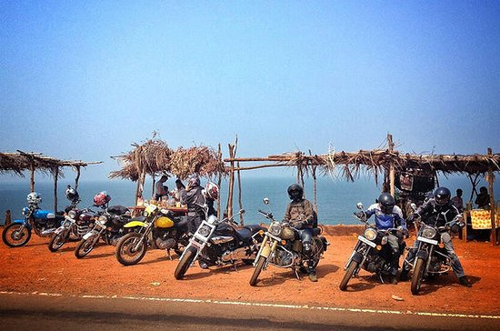 Motorbike Experience in North Goa with private hotel transfers