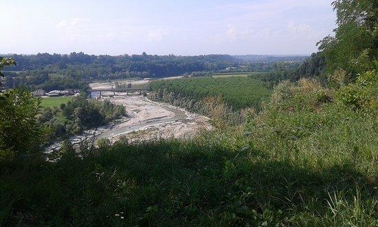 Fossano, Italy: La valle del fiume Stura