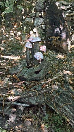 Le ron des fades village miniature: Sur le parcours
