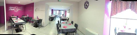 Blain, Francja: diaporama de la salle restaurant