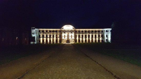Dargun, Jerman: Kloster bei Nacht