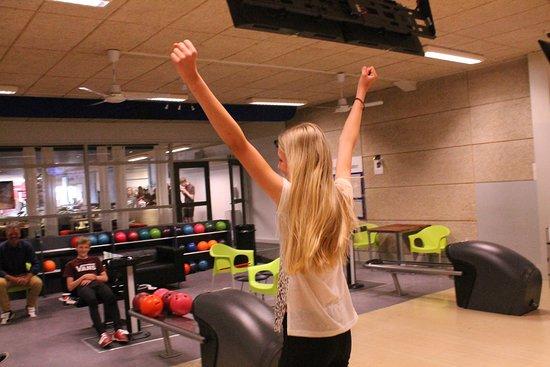 Roedding, Denmark: Bowling - bare for sjov!
