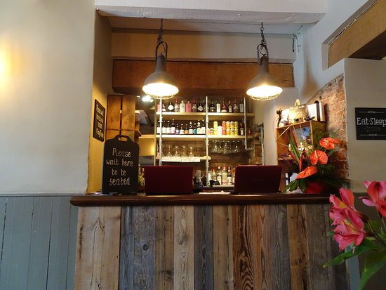 The Littleton Arms Reception Order Area For Restaurant Small Bar Apart From