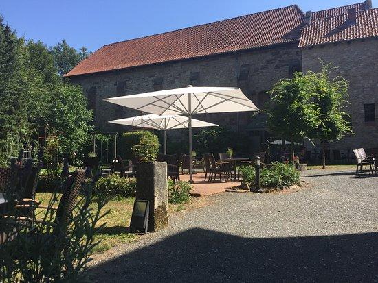 Bad Gandersheim, Jerman: Outdoor Kaffee