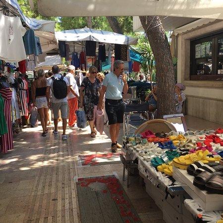 Mercato di Civitanova Marche : Il mercato del sabato