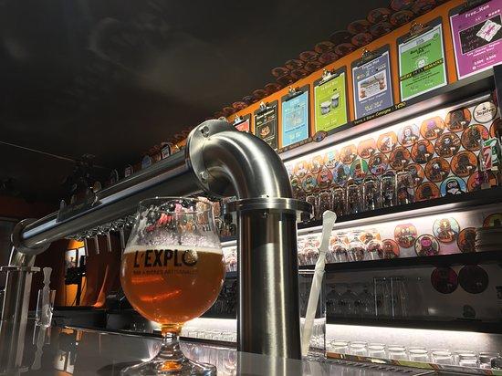 L'Explo Bar à Bières Artisanales