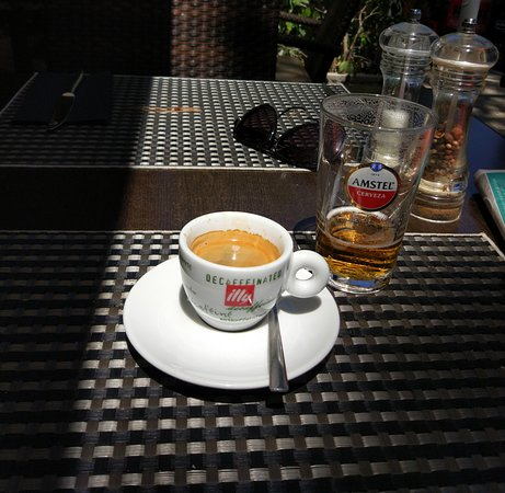 The Illy Coffee Picture Of Le Ptit Bistrot Palmanova