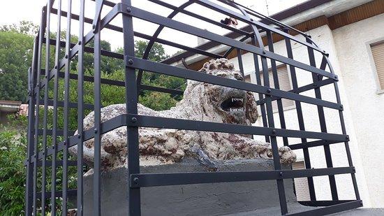 Torreano, Italia: il leone