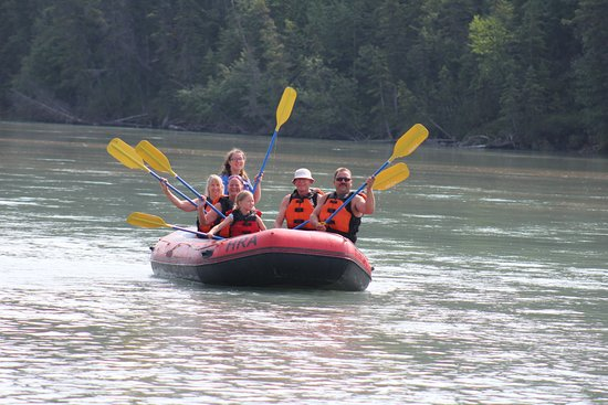 Hinton Rafting Adventures : Great day on the river.