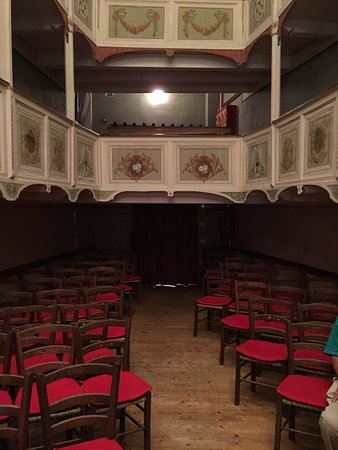 Teatrino di Vetriano: Interno teatro