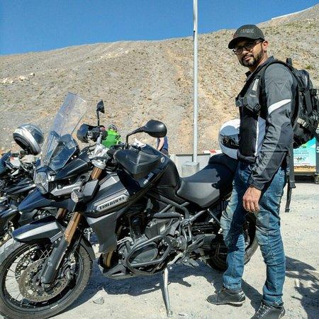 Jabal Jais: Up the Jebel Jais run with the boyzzz