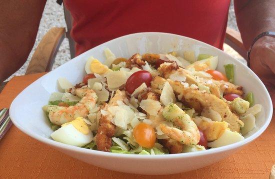 Cote Canal: la salade césar