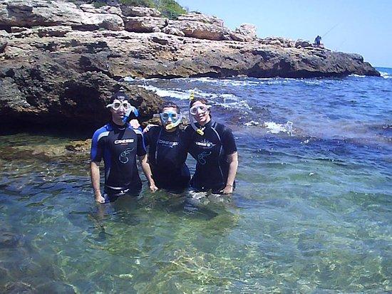 Plàncton Diving: Con mis hijos....disfrutaron tanto o más que yo¡¡