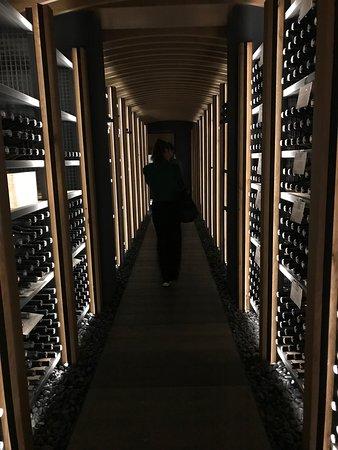 Secret stashes in private cellars